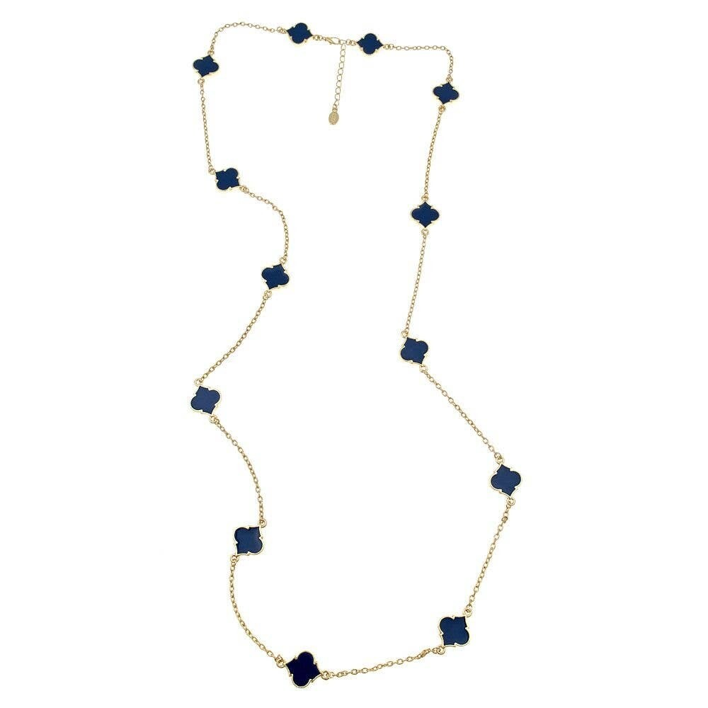 Fornash Long Spade Necklace