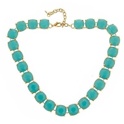 Fornash Aqua Charlotte Necklace