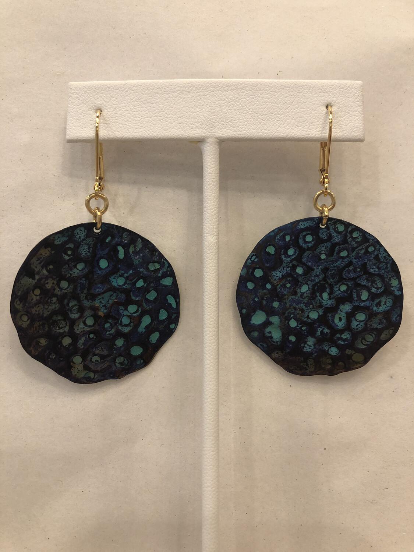 We Dream in Color - Cebille Blue Earrings
