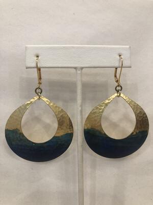 We Dream in Color - Watercolor Devi Earrings