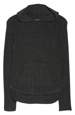 Barefoot Hooded Pullover - Carbon