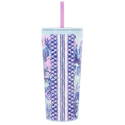 Lilly Tumbler with Straw - Shade Seeker