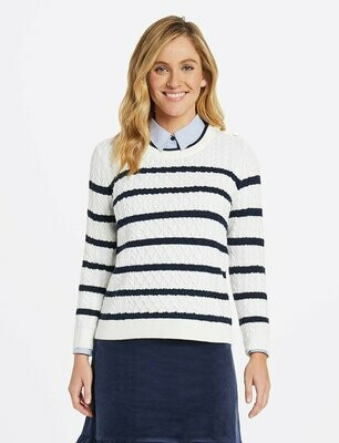 Draper Sailor Cable Knit Sweater