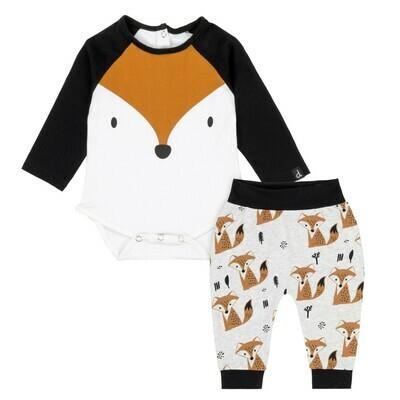 DPD Fox Bodysuit and Pants Set