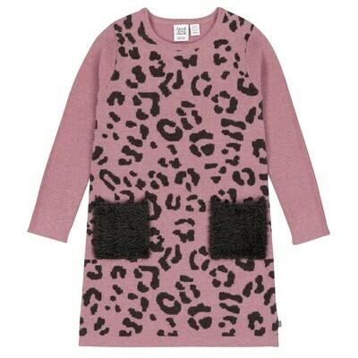 DPD Leopard Knit Dress