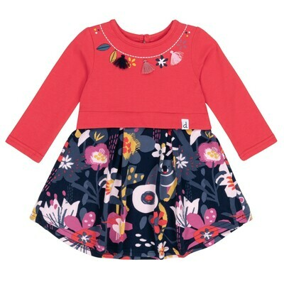 DPD Floral Jersey Baby Dress