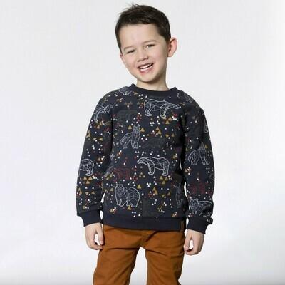 DPD Animal Terry Sweatshirt