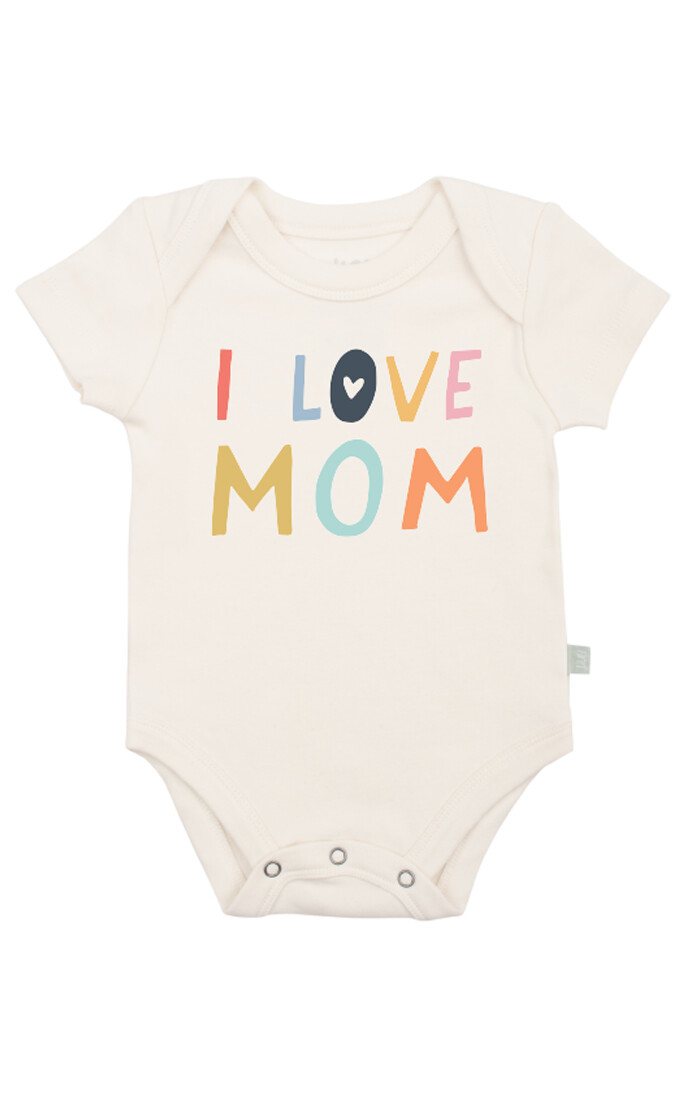 Love Mom Bodysuit