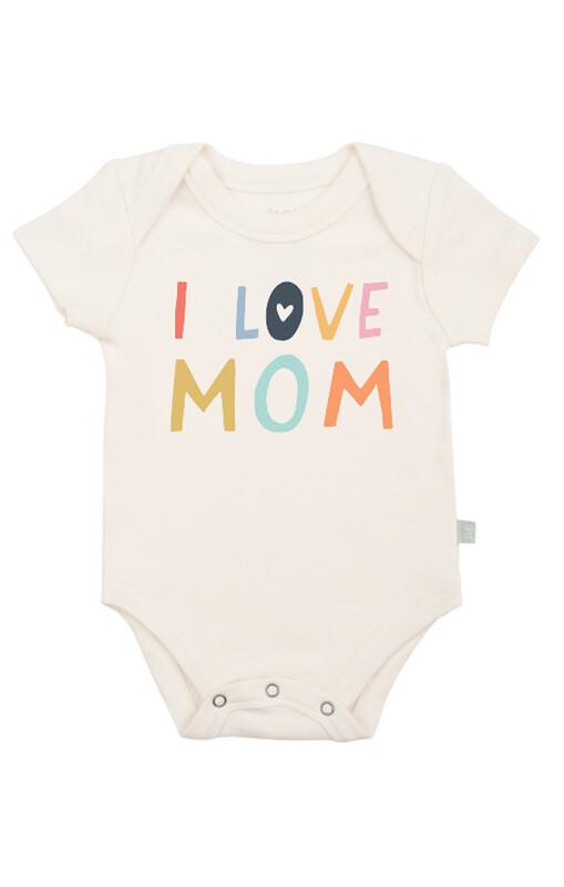 I Love Mom Bodysuit
