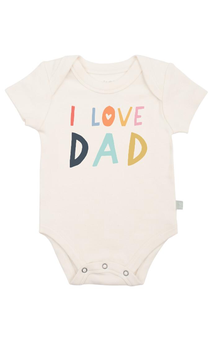 I Love Dad Bodysuit