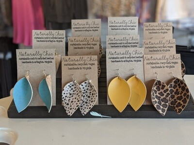 NC Cork Earrings
