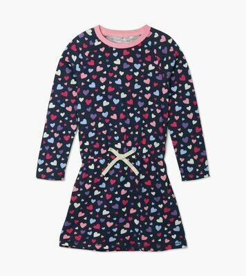 Hatley Confetti Hearts Drop Waist Dress