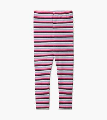 Hatley Pink Denim Stripe Leggings