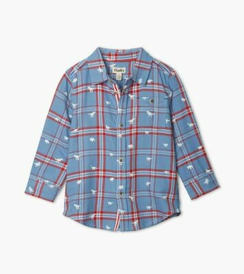 Hatley Dinos Button Down
