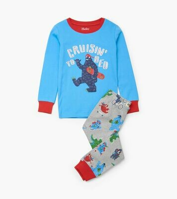 Hatley Monsters Organic Cotton PJs