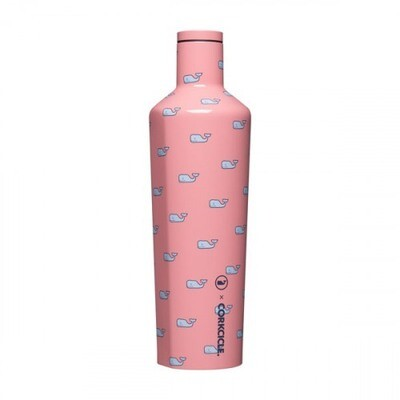 Corkcicle Canteen - 25oz Vineyard Vines Whales  Repeat