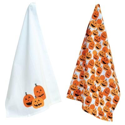 Pumpkin Tea Towel