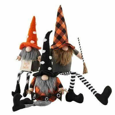Halloween Dangle Leg Gnome