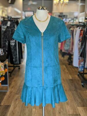 Anna Cate Dora Dress Spruce