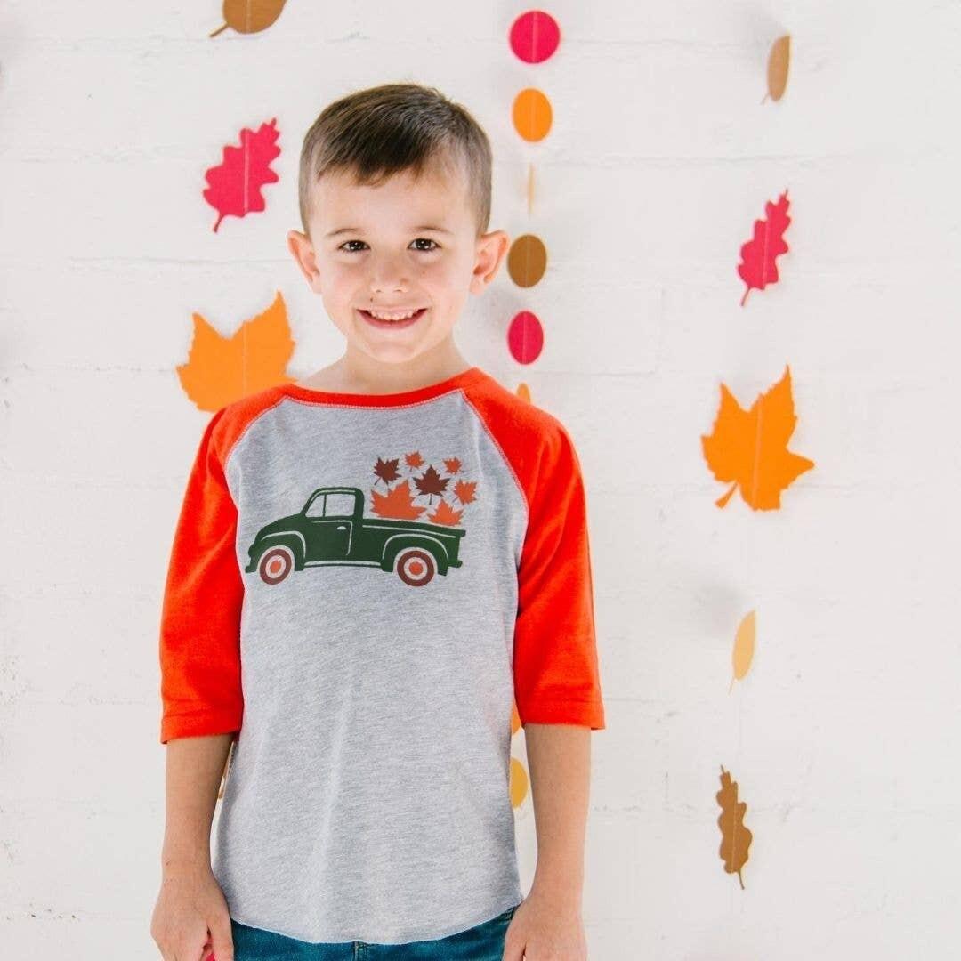 Fall Truck L/S Shirt