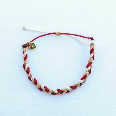 PV Braided Bracelet Fire