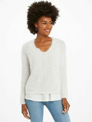 Nic + Zoe The Right Fluff Sweater