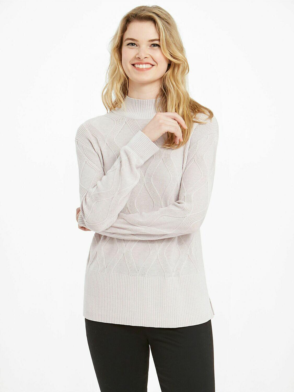 Nic + Zoe Eternal Sweater Soft Dawn