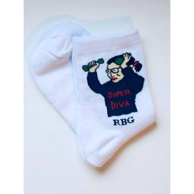 MSS RBG Short Socks White