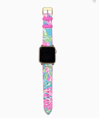 Lilly Apple Watch Band - Totally Blossom