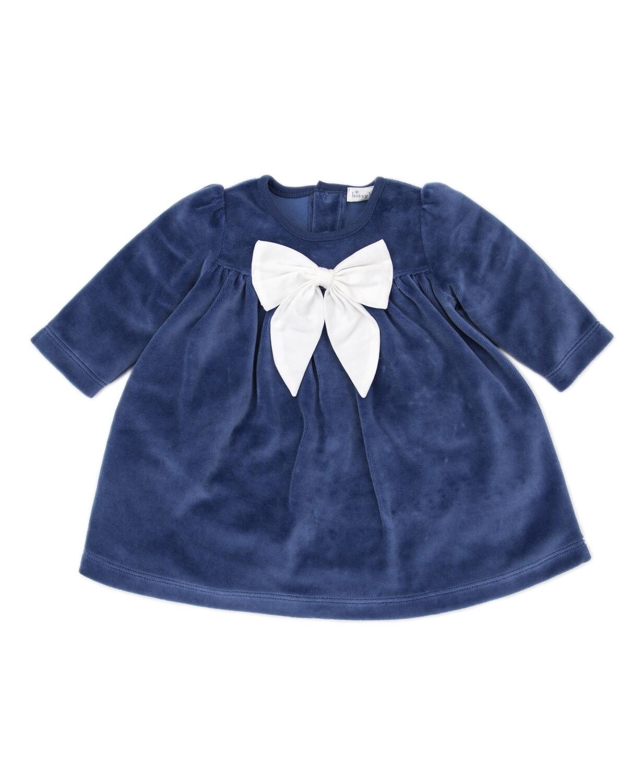Kissy Hanukkah Velour Dress
