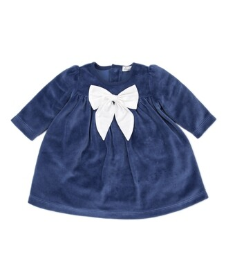 Kissy Hanukkah Velour Dress