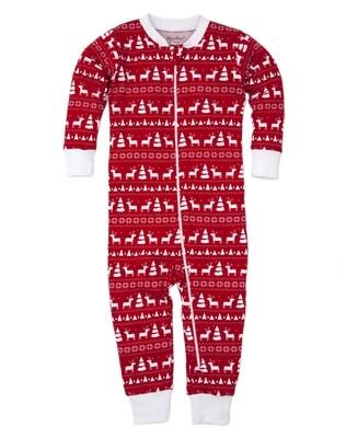Kissy Red Reindeer Family PJs