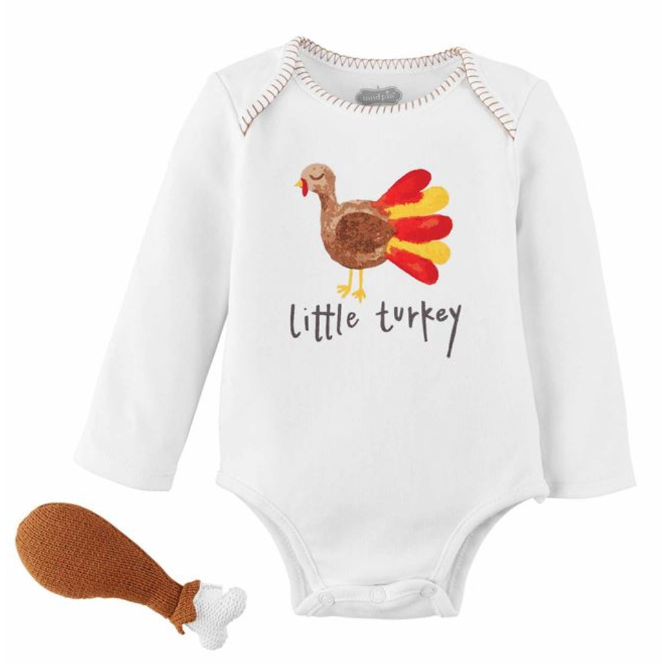 Turkey Rattle Gift Set
