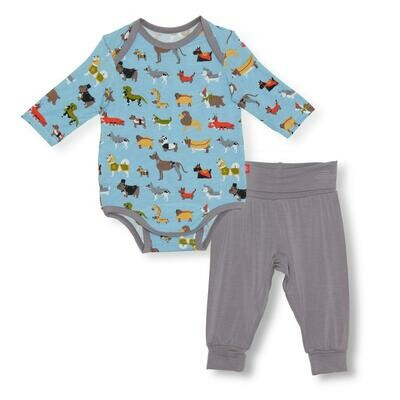 Magnetic In-Dog Nito Bodysuit and Pant