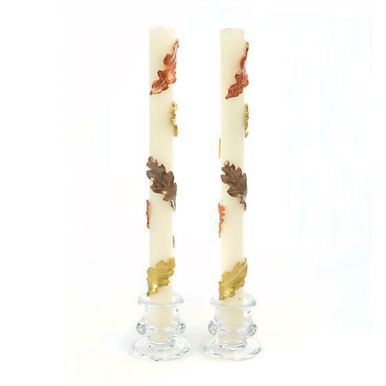 MacKenzie Taper Candle - Fall Leaves