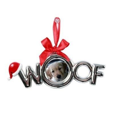 DEI Woof Ornament