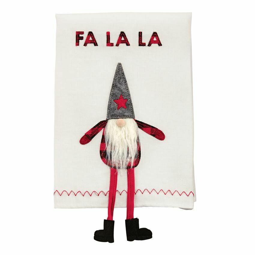 Gnome Dangle Leg Towel
