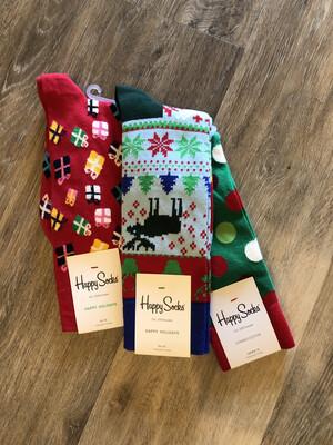 Happy Socks Men's Holiday Socks