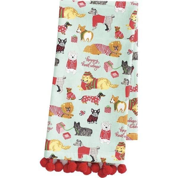 PS Happy Howlidays Tea Towels