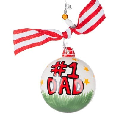#1 Dad Ornament