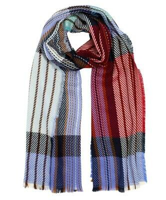 Echo Colorful Twill Scarf