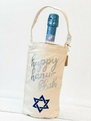 Hanukkah Star Wine Bag