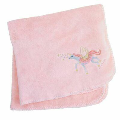 MP Unicorn Fleece Blanket