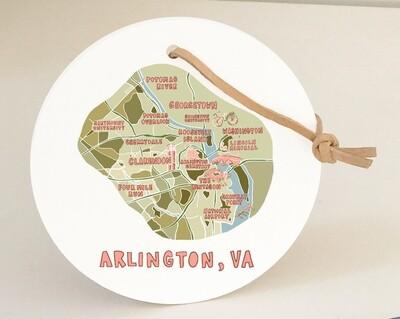 Arlington Round Ornament