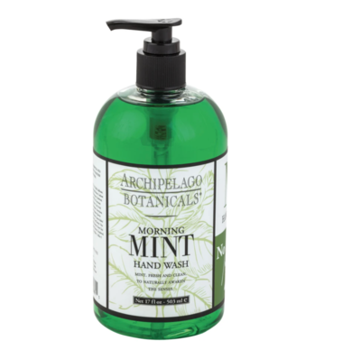 Archipelago Morning Mint Hand Wash