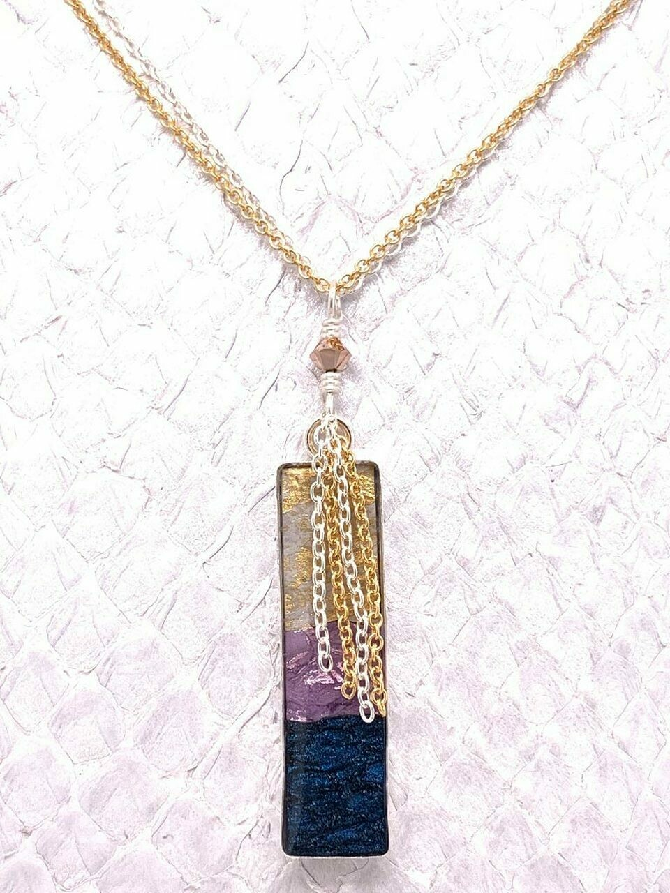 MJ Waterfall Necklace - mixed