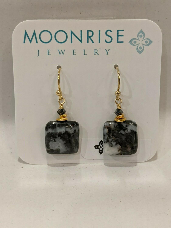 Moonrise Jewelry Zebra Earrings