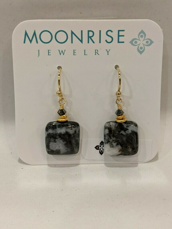 Moonrise Jewelry Zebra Earrings