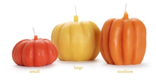 BD Shape Candles - lg pumpkin