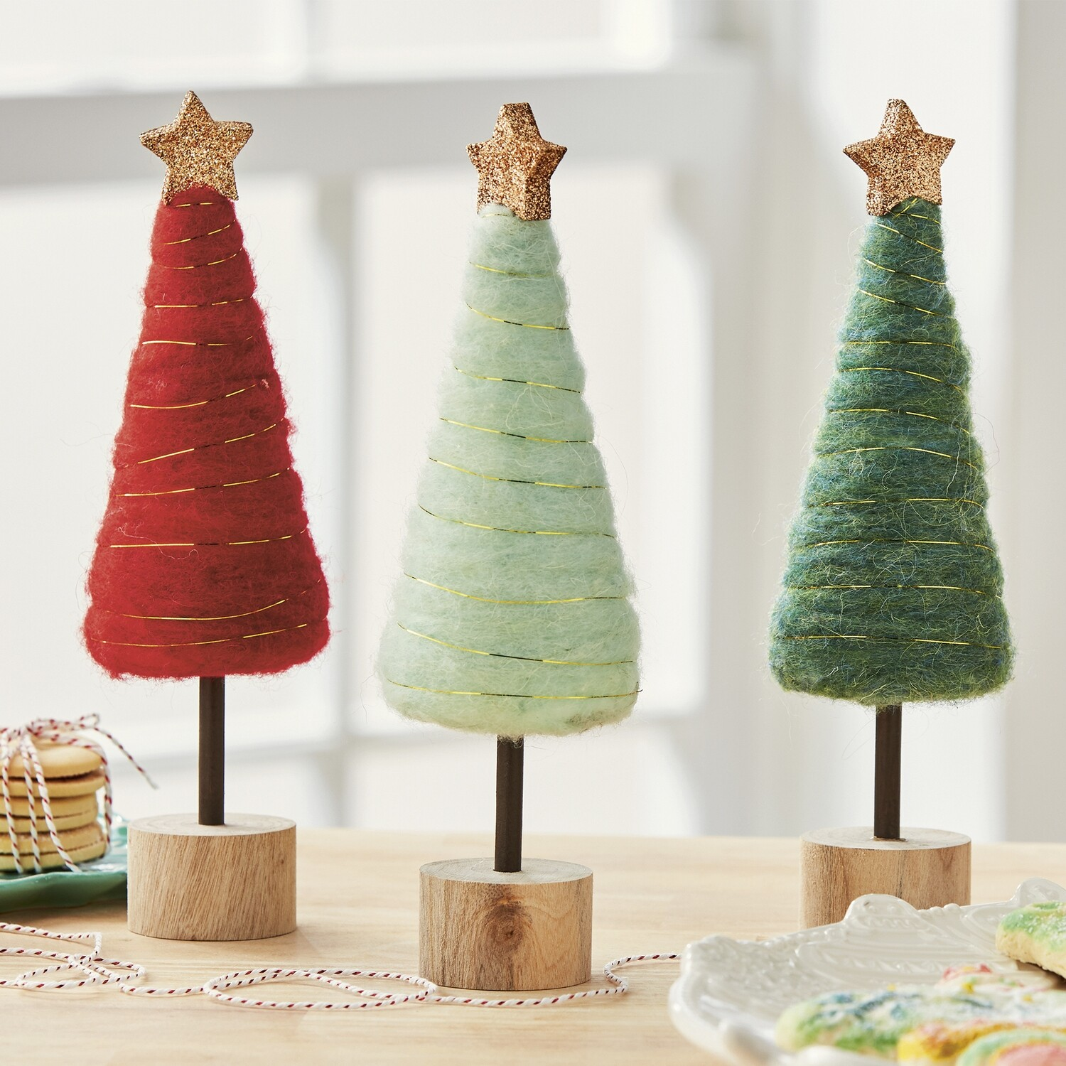 Cotton Candy Holiday Trees